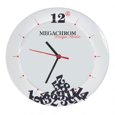 Стенен часовник от меламин