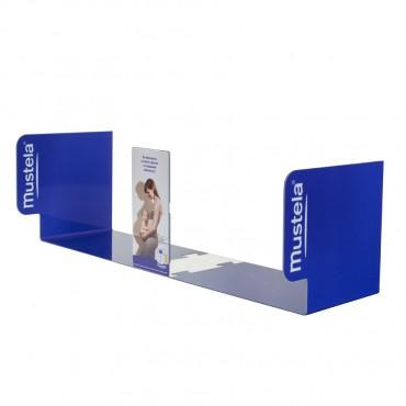 Рекламна рафт лента за аптека от PVC