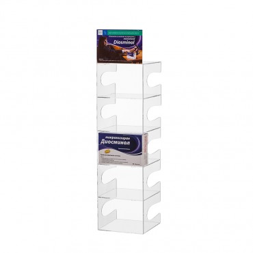 Product displays of PVC