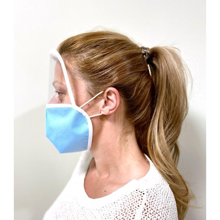 Предпазна маска с шлем за лице